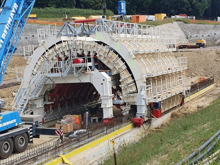 Tunnel - Formwork - Casseri - Conci- TFI-Austria-Rudersdorf-