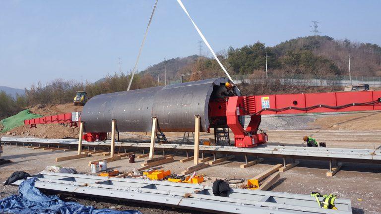 Tunnel - Formwork - Casseri - Conci- TFI-Juam-Dam-Korea