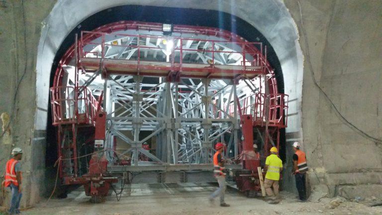 Tunnel - Formwork - Casseri - Conci- TFI-Israele-Rioad6